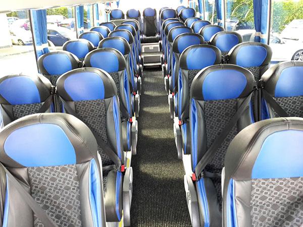 35 Seater - Interior